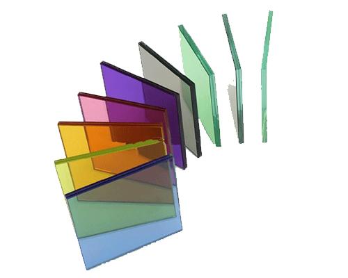 شیشه دوجداره و شیشه سه جداره رنگی