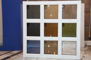 اجرای پنجره با شیشه دو جداره