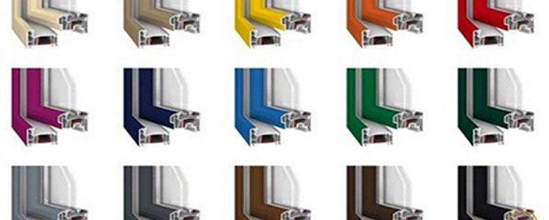 رنگبندی پنجره های دو جداره