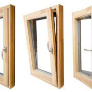 مدل پنجره دو جداره دو حالته