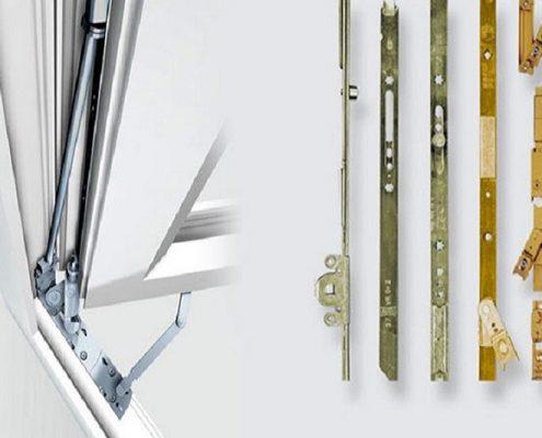 ابزار آلات و یراق آلات پنجره دو جداره
