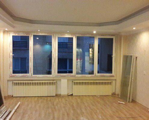اجرای پروژه تعویض پنجره قدیمی با پنجره دوجداره upvc