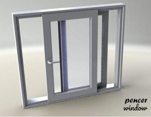 مدل کشویی پنجره دو جداره