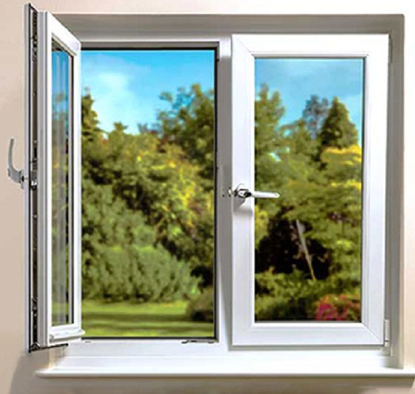 پروفیل های استفاده شده در پنجره دو جداره تک حالته