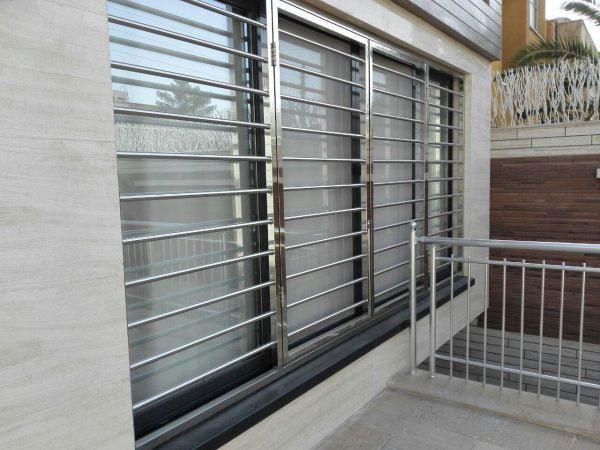 حفاظ استیل پنجره upvc