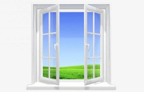 پنجره دوجداه پنسر وين