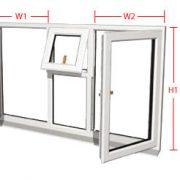 استعلام قيمت درب و پنجره دوجداره