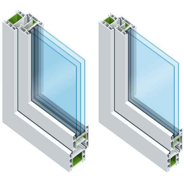 تفاوت شیشه دوجداره با شیشه سه جداره